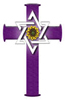 U.S.C.L. purple cross logo